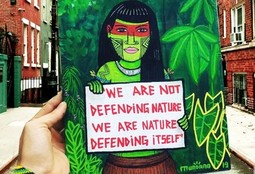 We are Nature Defending Itself