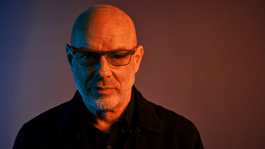 Brian Eno am Elevate Festival