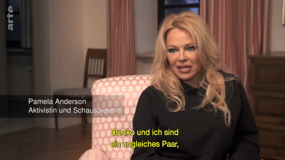 ARTE: Through the Night with.. Pamela Anderson & Srecko Horvat... in Graz