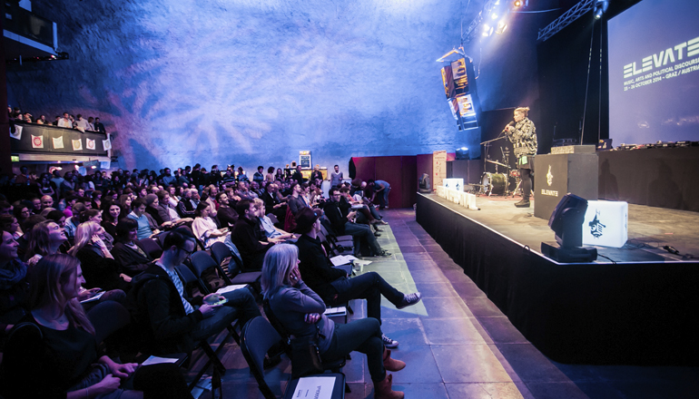 6004767726 The Elevate Festival heralds the beginning of spring for the second time.  Three new stages, an extensive programme of discourse and an increasing  number of ...